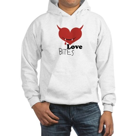 Love Bites Hooded Sweatshirt