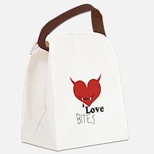 Love Bites Canvas Lunch Bag