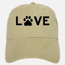 Love Paw Baseball Baseball Cap