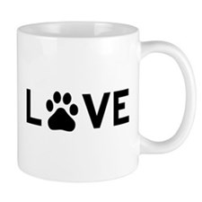 Love Paw Small Mugs