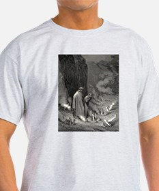 Gustave Dore - The Simonists T-Shirt