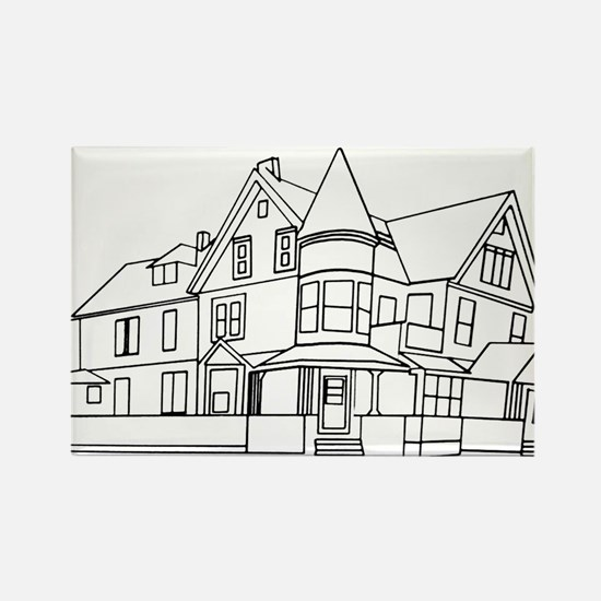 Drawn Home: Grand Victorian in Pen & Ink by Baya R