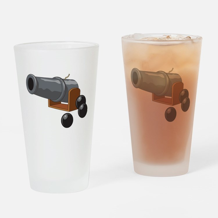 Cannonball Drinking Glass