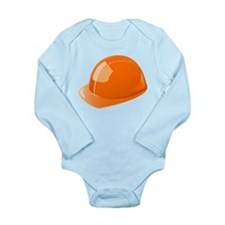 Hard Hat Long Sleeve Infant Bodysuit