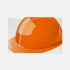 Hard Hat Rectangle Magnet
