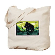 Woolly Mammoth Czechoslovakian Matchbox Label Tote