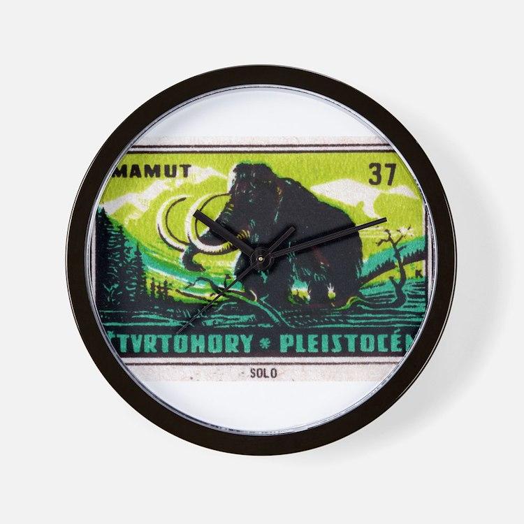 Woolly Mammoth Czechoslovakian Matchbox Label Wall