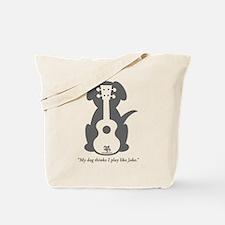 Dog Jake Uke Tote Bag