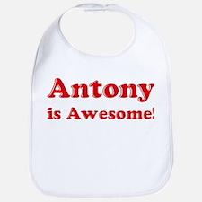 Antony is Awesome Bib