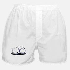 Nap Time Westie Boxer Shorts