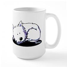 Nap Time Westie Mug
