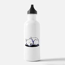 Nap Time Westie Water Bottle