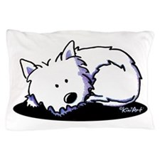 Nap Time Westie Pillow Case