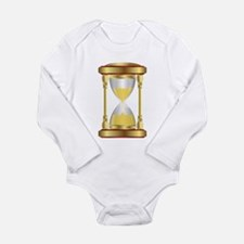 Hourglass Long Sleeve Infant Bodysuit
