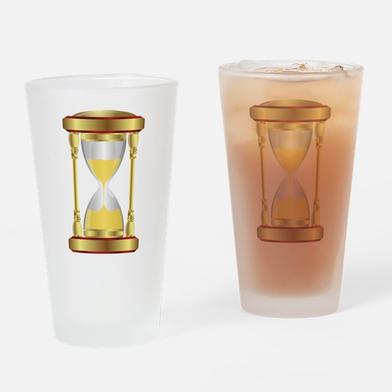 Hourglass Drinking Glass