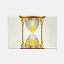 Hourglass Rectangle Magnet