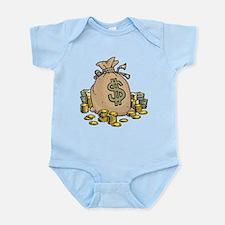 Money Bags Infant Bodysuit