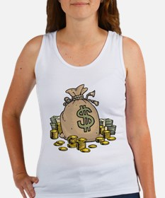 Money Bags Women's Tank Top