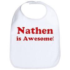 Nathen is Awesome Bib