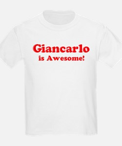 Giancarlo is Awesome Kids T-Shirt