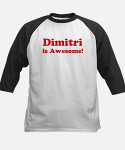 Dimitri is Awesome Kids Baseball Jersey