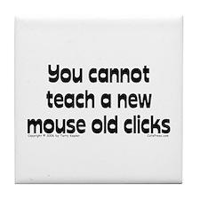 Mouse/Clicks Tile Coaster