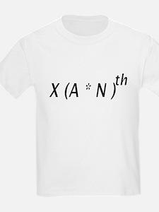X(A*N)th Kids T-Shirt