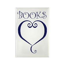 BOOKS Rectangle Magnet (10 pack)