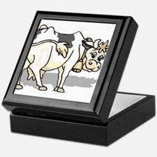 Dairy Cow Keepsake Box