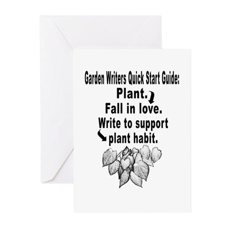 Garden Writers Quick Start Guide Greeting Cards (P