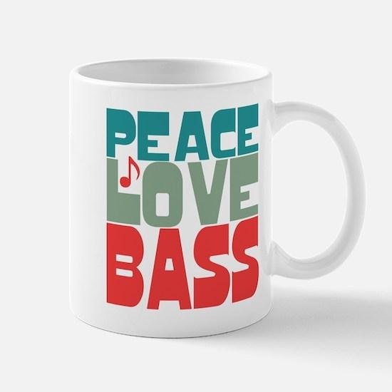 Peace Love Bass Mug