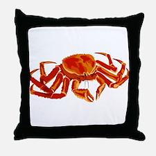 King Crab Throw Pillow