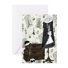 Gatsby in Paris Greeting Cards (Pk of 10)
