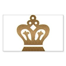 Gold Crown Decal