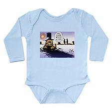 Groundhog Day Long Sleeve Infant Bodysuit