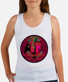 Cleopatra Reincarnated Ruby Carpet Women's Tank To