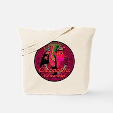 Cleopatra Reincarnated Ruby Carpet Tote Bag