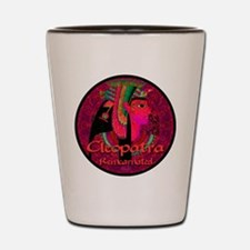 Cleopatra Reincarnated Ruby Carpet Shot Glass