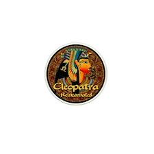Cleopatra Reincarnated Persian Carpett Mini Button