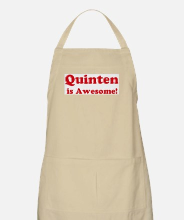 Quinten is Awesome BBQ Apron