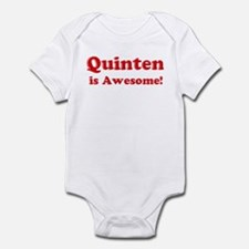 Quinten is Awesome Infant Bodysuit