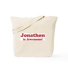 Jonathon is Awesome Tote Bag