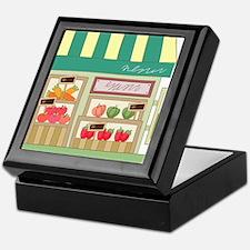 Produce Stand Keepsake Box
