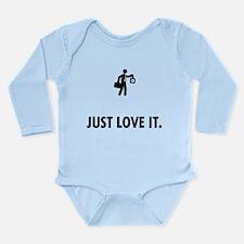 Office Job Long Sleeve Infant Bodysuit