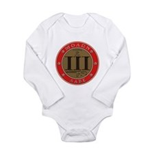 Come and Take It - Trace Red Long Sleeve Infant Bo