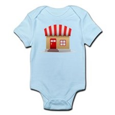 Business Front Infant Bodysuit