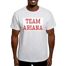 TEAM ARIANA  Ash Grey T-Shirt