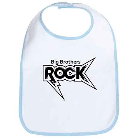 Big Brothers Rock Bib