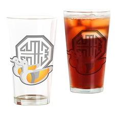 Duck Symbol Drinking Glass