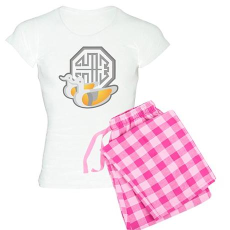 Duck Symbol Women's Light Pajamas